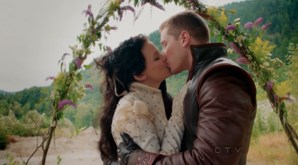 Ginnfer Goodwin Josh Dalas Snow White Prince Charming Get Married Once Upon A Time Season 2 Lady of the Lake